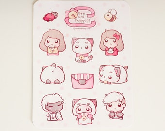 Bee and Puppycat Stickers