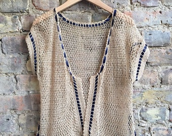 1930's Crochet Cardigan