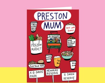 Mother's Day Card  - Preston Mum