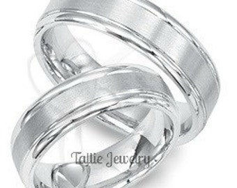 10K His and Hers Bands TallieJewelry