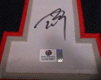 Tom Brady signed New England Patriots Jersey/Global