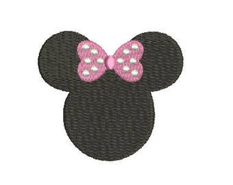 Disney Minnie Mouse Embroidery Fill Design Machine Embroidery Instant Download Digital File EN2060BF