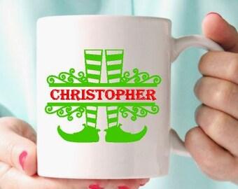 Christmas gift coffee mug -Coffee mug-Ceramic mug-Holiday gift- Christmas gift idea-Coleague gift-Gift for friend- Vinyl mug- Teachers gift