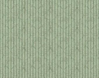 Quilting Treasurers - Mirabelle - Medium Sage (23903-H) - Damask Stripe (Vertical) - Cotton Fabric