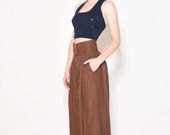 On sale -50% Brown palazzo pants