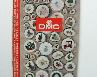 """DMC charts embroidery book. """"Decorations""""."""