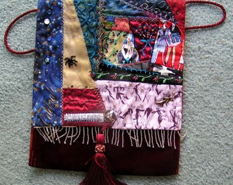 CHICAGO Crazy Quilted Bag One of a Kind