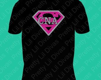 CNA superhero  shirt