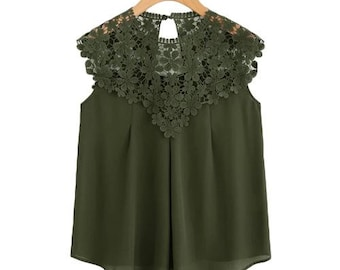 The Daisy Lace Top