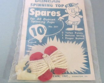 1960s Duncan Spinning Top Spares Old Store Stock