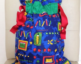 Boys Drawstring Bag, Boys PE Bag, PE Bag, School Bag, Boys School Bag, Nursery Bag, Childrens Backpack, Backpack, Shoe Bag, Boys Shoe Bag