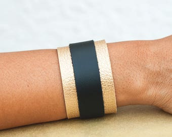 Handmade Eco Leather Bracelet