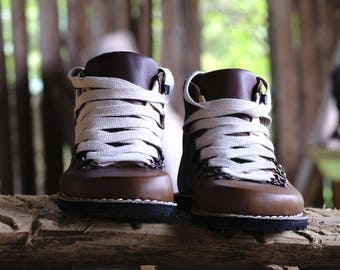 Mountain Oak - barefoot shoes / leather / boots / handstitched
