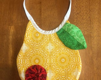 Yellow Pear Bib