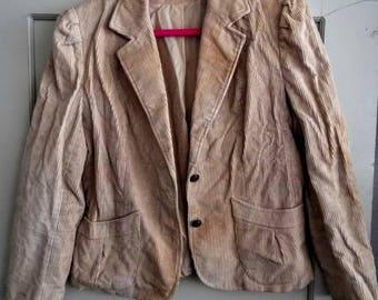 Vintage corduroy jacket/blazer