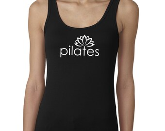 Pilates tank top, Pilates shirt, Pilates tank, yoga tank top, pilates top, pilates tshirt, pilates t-shirt, Yoga shirt, Yoga clothing, #LT25