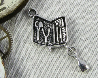 1 (or 8) Toolkit Silver Charms, HOU027