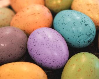 Colorful Easter Eggs Digital Photo