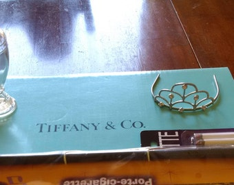 Breakfast At Tiffany's Costume, Holly Golightly Bracelet, Diamond Tiara, cigarette holder
