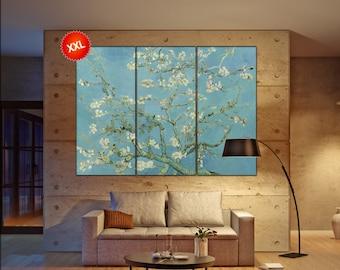 Almond Blossom van gogh  print canvas wall art Large Almond Blossom van gogh art artwork large art office decoration
