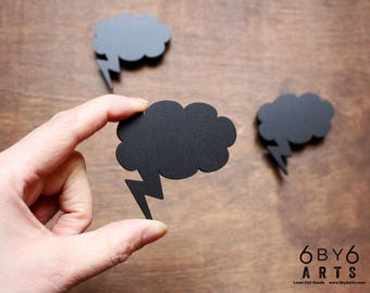 Brainstorm Idea Chalkboard Magnets - 3 Piece Set