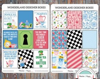 June Designer Boxes Planner Stickers