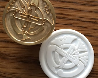 Seal stamp : Japanese crest GIONMAMORI dia25mm