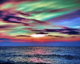 Vivid Sunset - Fine Art Photograph - Home Decor
