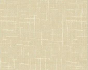 Tan Distressed Blender - Farm Fresh from Windham Fabrics - Full or Half Yard Tan White Etched Blender