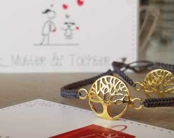 Bracelet Set Mother & daughter Tree of Life