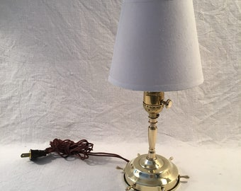 Nautical Brass Table Lamp