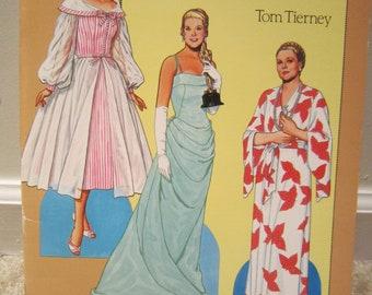 Tom Tierney Grace Kelly Paper Dolls