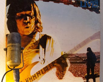 "Robin Trower (Procul Harum) Vinyl Record LP 1970s Guitar Hero ""Live"" (1976 Chrysalis w/""Too Rolling Stoned"",""Rock Me Baby"") Vintage Vinyl"