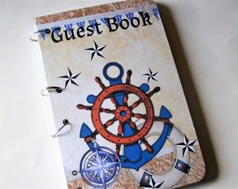 Anchor Nautical Guest Book