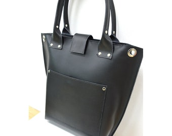 Leather Tote Bag , Leather Handbag , Handcrafted handbags ,work totes , tote leather handbags, premium leather handbags ,tote bag for work