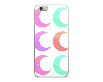 Ombre Moons Phone Case, Cute Phone Cases, Graphic Phone Case, iPhone Case, Samsung Case, Cool Phone Cases, Made to Order