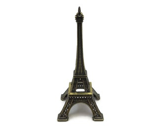 Eiffel Tower Figurine - Paris Souvenir Vintage Eiffel Tower Cake Topper
