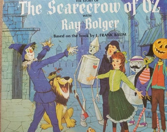 Scarecrow of Oz story and songs LP Ray Bolger