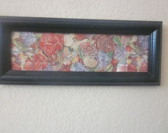 FLORAL LOVE PICTURE   ( hANDMADE)