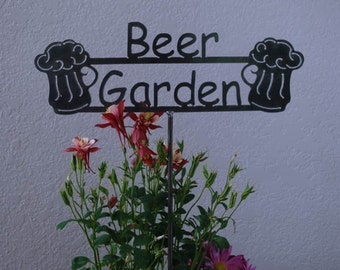 GREAT GIFT ITEM  - Beer Garden Sign