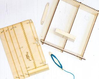 Pop-up Weaving Loom, Weaving Kit, Weaving Loom, Woven Wall Hanging, Boho Decor, Wall Hanging, Woven Wall Art, Wall Tapestry, Loom