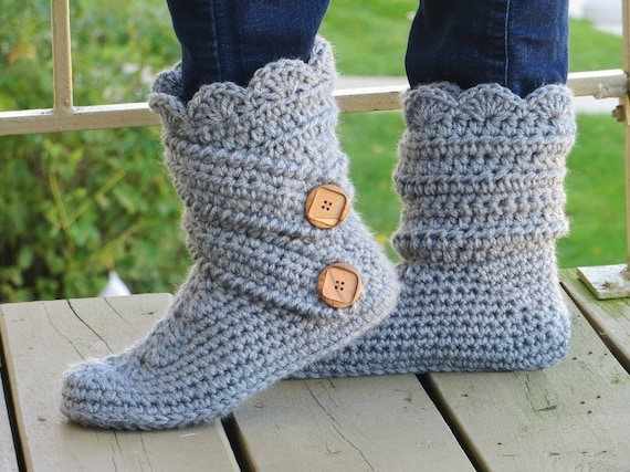 Crochet Slipper Pattern Boots Crochet Pattern Crochet house