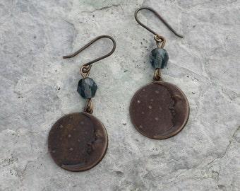 Man on the Moon Earrings