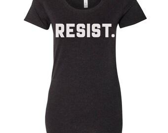 Womens RESIST. Lightweight Tri Blend t shirt [+Colors] S M L XL XXL custom