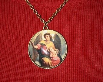 Guardian angel medal - FREE SHIPPING
