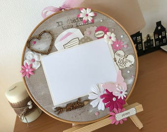 """Tmbour embroidery """"Sweet Memories"""""""
