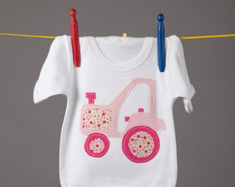 Old MacDonald T-Shirt (Pink Tractor)