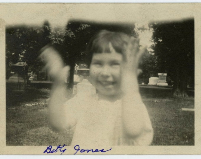 Vintage Snapshot Photo: Betty (611523)