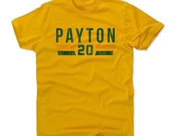 Gary Payton Men's Cotton T-shirt - Seattle Throwbacks Gary Payton Font G
