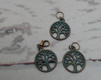 Tree of Life Stitch Marker Set-Choice